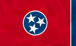 Tennessee Waving Flag Textura del fondo de la bandera del estado de Tennessee libre illustration