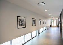 Tennessee Welcome Center Interior Hallway arkivfoton