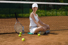 Tennis 08 Immagine Stock