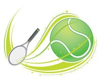 Tennis illustration libre de droits