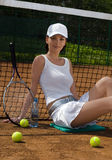 Tennis 12 Fotografia Stock