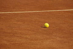 Tennis. Court in paris france europe Stock Photography