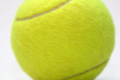 Tennis. A yellow ball for a tennis match Royalty Free Stock Image