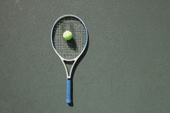 Tennis Photo libre de droits