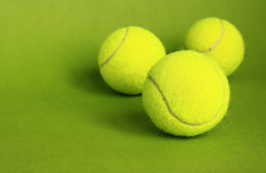 Tennis. Tennis balls for playing tennis Royalty Free Stock Images