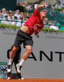 Tennis 2012 de Tomas Berdych Photos libres de droits