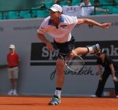 Tennis 2012 dell'Andy Roddick Immagine Stock Libera da Diritti