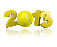Tennis 2013 design Stock Image