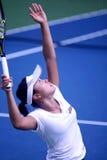 Tennis. Kurumi nara  (japan) at bmw malaysia open Stock Photo