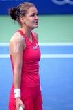 Tennis. Agnieszka radwanska  (poland) at bmw malaysia open Stock Photo