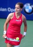 Tennis. Agnieszka radwanska  (poland) at bmw malaysia open Royalty Free Stock Photo