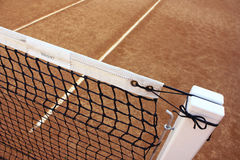 Tennis. Field and a  net Stock Photo
