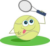Tennis stock illustration