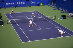 Tennis. Men's double finals,China Open Stock Photo