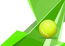 Tennis, abstract design Royalty Free Stock Photos