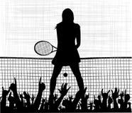 Tennis Ace Stock Photo