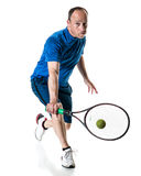 Tennis Action Royalty Free Stock Photos
