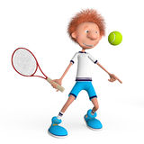 Tennis for all. Royalty Free Stock Photos