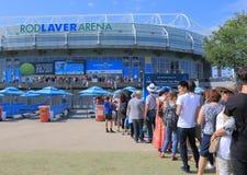 Tennis aperto dell'australiano Fotografie Stock Libere da Diritti
