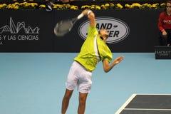 Tennis aperto Spagna di Marin Cilic Valencia Fotografia Stock Libera da Diritti