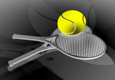 Tennis art Stock Photos