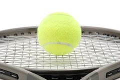 Tennis-Ausrüstung Lizenzfreie Stockfotografie