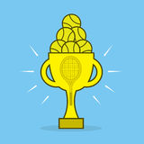 Tennis Award Stock Image