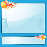Tennis  background. Abstract tennis background,vector illustration Royalty Free Stock Photography