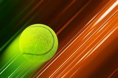 Tennis background. Design on speed background Stock Photo