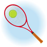 Tennis background card Royalty Free Stock Images