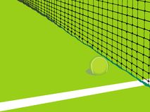 Tennis background card stock photos