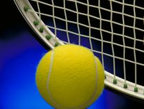 Tennis background concept Stock Images