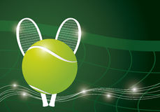 Tennis background design Royalty Free Stock Image