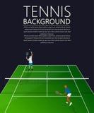 Tennis background Stock Image