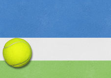 Tennis background us open Stock Images