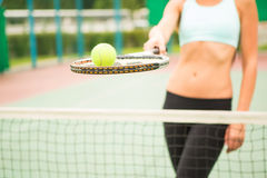 Tennis background Royalty Free Stock Photo