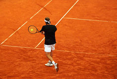 Tennis backhand Stock Image