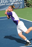Tennis Backhand (Alex Bogomolov) Stock Photo