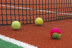 Tennis bal-1 stock foto