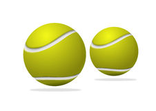 Tennis ball. 2 tennis ball illustration Royalty Free Stock Photography