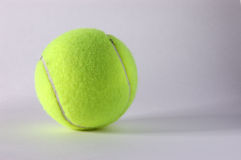 Tennis Ball. On white background Royalty Free Stock Photo