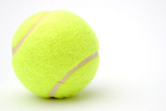 Tennis ball. On white background Stock Photos