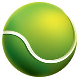 Tennis ball. Isolated tennis ball. Vector illustration Royalty Free Stock Photo