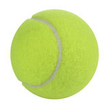 Tennis Ball. Close-up on tennis ball isolated on white background