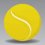 Tennis Ball. Yellow Tennis Ball Vector Drawing Royalty Free Stock Photo