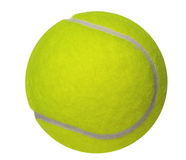Tennis ball. Isolated on white background Stock Photos