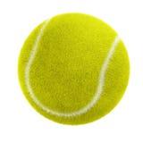 Tennis ball. 3d tennis ball isolated on white Stock Photos