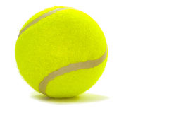 Tennis ball. On a white background Royalty Free Stock Photos