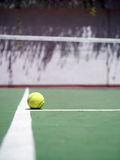 Tennis and ball Stock Images