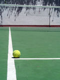 Tennis and ball Royalty Free Stock Photo